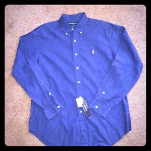 2865cd85 Polo Ralph Lauren Classic Fit Dress Shirt NEW 🤑
